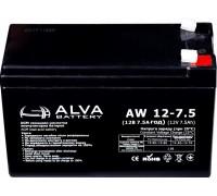 Аккумуляторная батарея Alva AW12-7,5