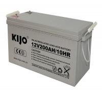 Гелевый аккумулятор 200Ач Kijo JDG12-200
