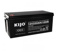 Гелевый аккумулятор 250Ач Kijo JDG12-250