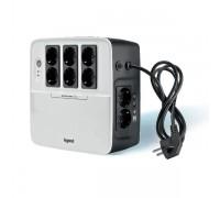Legrand KEOR MULTIPLUG 600 ВА / 360Вт, (6+2) хSchuko, USB