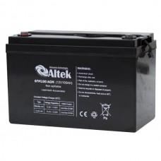 Аккумуляторная батарея Altek 6FM100AGM (12В 100Ач)