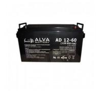 Аккумуляторная батарея Alva AD12-60 (12В 60Ач)