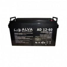 Аккумуляторная батарея Alva AD12-60 12В 60Ач