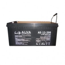 Гелевый аккумулятор Alva AS12-150