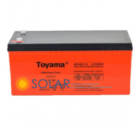 Deep cycle AGM аккумулятор Toyama NPC200-12 (12В, 200Ач)