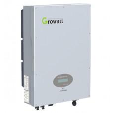 Сетевой инвертор GROWATT 5000UE (5кВ, 3-фазный, 2 МРРТ)