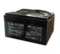 Гелевый аккумулятор Alva AS12-100 (12В 100Ач)