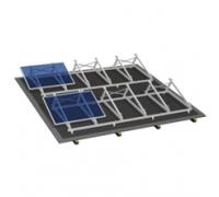 Комплект на плоскую крышу (4-40 модулей)