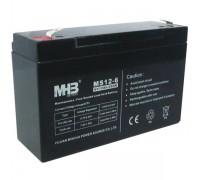 Аккумулятор AGM MHB MS7-12 (12 В 7 Ач)