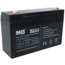 Аккумулятор AGM MHB MS12-6 (6 В, 12 Ач)