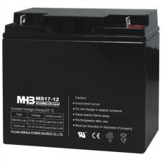 Аккумулятор AGM MHB MS17-12 (12 В 17 Ач)