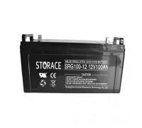 Гелевый аккумулятор STORACE SRG100-12 (12 В 100 Ач)