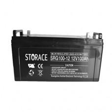 Гелевый аккумулятор STORACE SRG100-12
