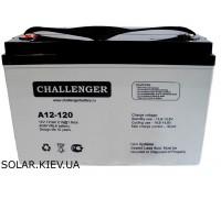 Аккумуляторная батарея Challenger A12-120 (12В 120Ач)