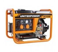 Дизельный генератор 3,3 кВт UNITED POWER DG3600E, 1 фаза