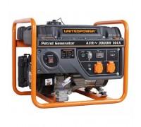 Бензогенератор 3 кВт UNITED POWER GG3400E, однофазный