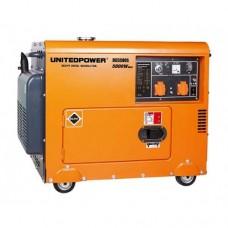 Дизельгенератор 5 кВт UNITED POWER DG5500SE, 1 фаза