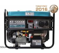 Бензиновый генератор 8 кВт Könner&Söhnen KS 10000E с электростартом