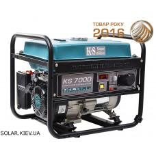 Бензиновый генератор 5 кВт Könner&Söhnen KS 7000