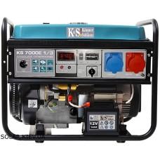 Бензиновая электростанция 5 кВт 230/400В Könner&Söhnen KS 7000E-1/3
