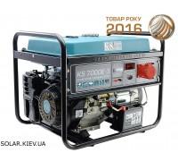 Бензогенератор 5 кВт 1/3 фазы Könner&Söhnen KS 7000E-3