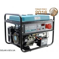 Бензогенератор 5 кВт 1/3 фазы Könner&Söhnen KS 7000E-3 с электростартом
