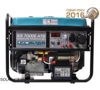 Бензогенератор 5 кВт Könner&Söhnen KS 7000E-ATS