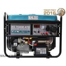 Бензогенератор 5 кВт Könner&Söhnen KS 7000E-ATS с электростартом