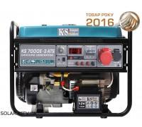 Бензогенератор 5 кВт Könner&Söhnen KS 7000E-3 ATS с автозапуском
