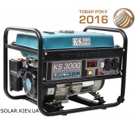Бензиновый генератор 3 кВт Könner&Söhnen KS 3000