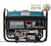 Бензиновый генератор 3 кВт Könner&Söhnen KS 3000E