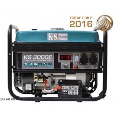 Бензиновый генератор 3 кВт Könner&Söhnen KS 3000E с электростартом