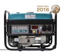 Гибридный генератор 3 кВт Könner&Söhnen KS 3000G