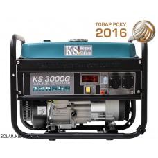 Гибридный генератор 3 кВт Könner&Söhnen KS 3000G газ-бензин