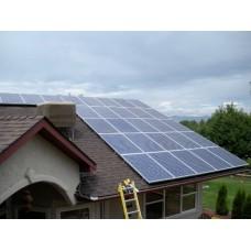 Монтаж солнечных электростанций в Украине