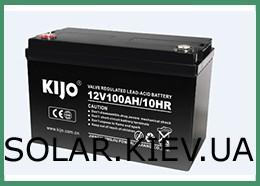 KIJO аккумуляторные батареи
