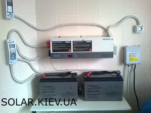 Инверторно вккумуляторные системы резервного питания