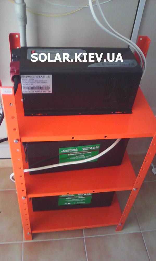 Пример реализации резервной системы электропитания частного дома