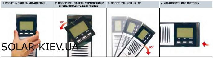 Универсальный дисплей ИБП Riello Sentinel Dual SDH 1000-3000